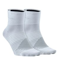 Nike 2pk Anti-Blister Sock -  White/Grey