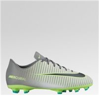 Nike Mercurial Victory VI (FG) Firm Ground Football Boot -  Grey/Black/Green