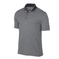 Nike Icon Stripe Polo -  Grey/White/Black