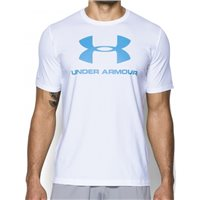 Under Armour CC Sportstyle Logo -  White