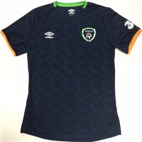 Umbro Ireland FAI Tournament Jersey 2016 - FDZ Navy/Green