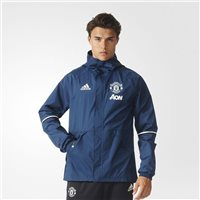Adidas Manchester Utd MUFC All Weather Jacket - Navy