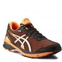 Asics Mens GT-1000 5 G-TX -  Black/Silver/Orange
