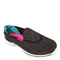 Skechers Go Walk 3 Provoke Shoe - BKMT Black/Multi