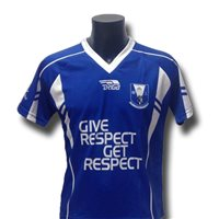Briga Four Masters GAA Home Jersey - Royal/White