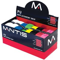 Mantis PU Replacement Hurling Grips - White