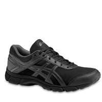 Asics Gel Mission Running Shoes -  Black/Onyx/Charcoal