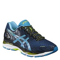 Asics Mens Gel Nimbus 18 Running Shoes -  Posidon/Blue Jewel