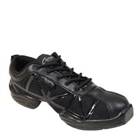 Capezio Irish Dancing Web Trainer - Black Patent
