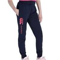 Canterbury Girls Cuffed Fleece Pants - Navy/Pink