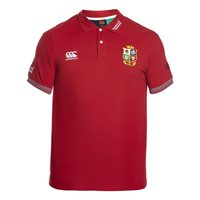 Canterbury British & Irish Lions Training Polo - A Tango Red