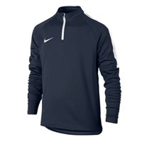 Nike Kids Dry Academy Drill Top -  Navy/White