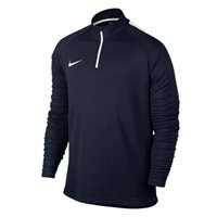 Nike Mens Dry Academy Drill Top -  Navy/White