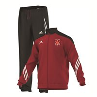 Adidas Raphoe Hockey Sereno 14 Poly Suit -Red Black White