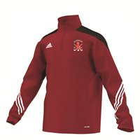 Adidas Raphoe Hockey Sereno 14 Training Top Youth -Red Black White