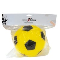Precision Training 200mm Painted Foam Ball - (High Density) - Yellow/Black