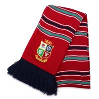 Canterbury British & Irish Lions Acrylic Scarf - A Tango Red