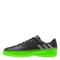 Adidas Kids Messi 16.4 TF J Turf Trainers - Dark Grey/Silver/Green