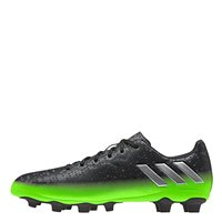 Adidas Messi 16.4 FxG Firm Ground Football Boots - Dark Grey/Silver/Green