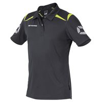 Stanno Forza Polo - Anthracite/Neon Yellow