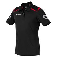 Stanno Forza Polo - Black/Red
