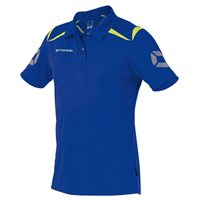 Stanno Forza Polo - Deep Blue/Neon Yellow