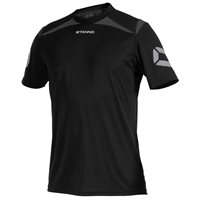 Stanno Forza T-Shirt - Black/Anthracite