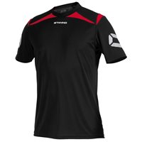Stanno Forza T-Shirt - Black/Red