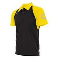 Stanno Riva Polo - Black/Yellow