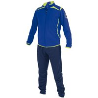 Stanno Forza Poly Suit - Deep Blue/Neon Yellow