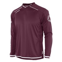 Stanno Futura Long Sleeve Jersey - Maroon-White