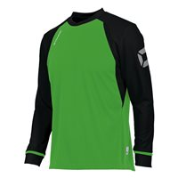 Stanno Liga Long Sleeve Sleeve Jersey - Bright Green/Black