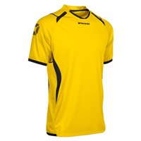 Stanno Olympico Short Sleeve Jersey - Yellow/Black