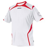 Stanno Torino Short Sleeve Jersery - White/Red