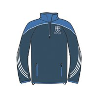ONeills Naomh Conaill Parnell Half Zip Training Top - Navy/Royal/White
