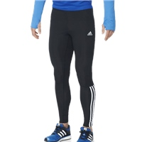 Adidas Mens Response Long Tights - Black/white/Silver