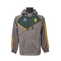 ONeills Donegal Conall 14 Overhead Hoodie - Grey/Bottle/Amber