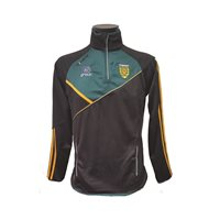 ONeills Donegal Conall 30 Half Zip Squad Top - Black/Bottle/Amber