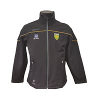 ONeills Donegal Conall 62 Softshell Jacket - Black/Bottle/Amber