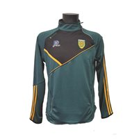 ONeills Donegal Conall 86 Side Zip Squad Top - Bottle/Black/Amber