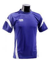Briga Core Training Tee  - Royal/White