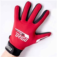Briga Gaelic Glove  - Dark Red