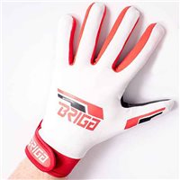 Briga Gaelic Glove  - White/Red