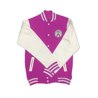 Ralawise Irish Dancing Varsity Jacket - Girls - Pink/White