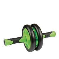 Fitness Mad Duo Ab-Wheel - Green/Black