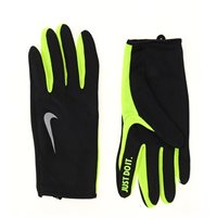 Nike Rally 2.0 Run Gloves -  Black/Volt/Silver