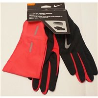 Nike Womens Dri-Fit Headband/Glove Set -  Black/Pink