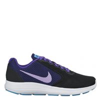 Nike Womens Revolution 3 -  Black/Purple/Lilac