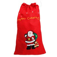 Little Lux Christmas Santa Sack - Red