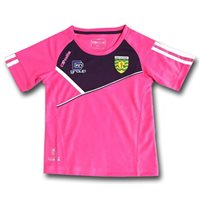 ONeills Ladies Donegal Conall 01 T-Shirt - Flor. Pink/Navy/White